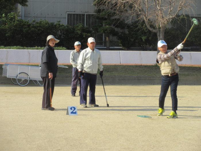 グラウンドゴルフ大会を開催しました!